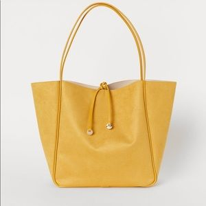 Yellow Shopper Bag